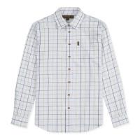 Musto Classic Twill Check Shirt Wimborne Green