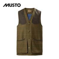 Musto Machine Washable Tweed Waistcoat Balmoral