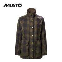 Musto Abbeystead Br 1 Oilcloth Jacket FW Woodland Check