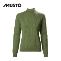 Musto Tixall Roll Neck Knit FW Reed Green