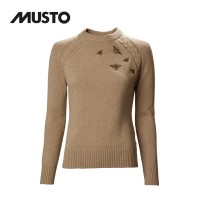 Musto Country Crew Neck Knit FW Caramel