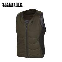 Harkila Heat V Neck Waistcoat Willow Green/Black