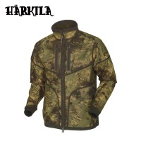 Harkila Lynx Reversible Fleece Jacket Willow Green/Axis MSP Forest Green