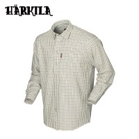 Harkila Stornoway Active Shirt Green/Blue Check