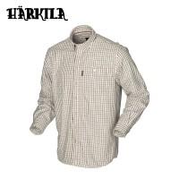 Harkila Stornoway Active Shirt Burgundy Check