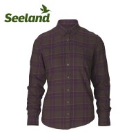 Seeland Range Lady Shirt Java Check