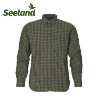 Seeland Warwick Shirt Pine Green Check
