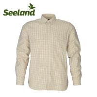 Seeland Warwick Shirt Soil Brown Check