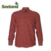 Seeland Range Shirt Ketchup Check