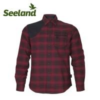 Seeland Terrain Shirt Red Check