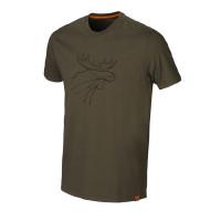 Harkila T Shirt Dark Olive