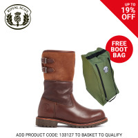 Royal Scot Nevis Ladies Boot Dark Brown