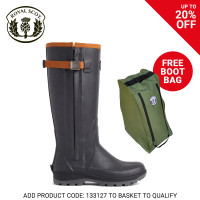 Royal Scot Lomond Ladies Boot Black