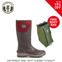 Royal Scot Tay Neoprene Ladies Boot Brown