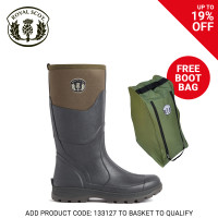 Royal Scot Tay Neoprene Mens Boot Tarmac Green