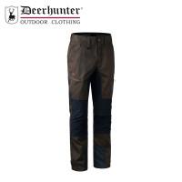 Deerhunter Rogaland Stretch Contrast Trousers Brown Leaf Short Leg