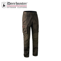 Deerhunter Rogaland Stretch Trousers Brown Leaf Short Leg