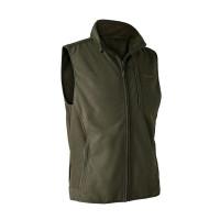Deerhunter Gamekeeper Bonded Fleece Waistcoat Graphite Green
