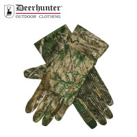 Deerhunter Approach Silicone Grip Gloves Realtree Adapt Camo