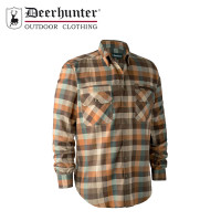 Deerhunter James Shirt Brown Check