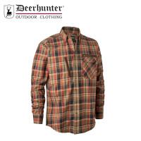 Deerhunter Hektor Shirt Orange Check