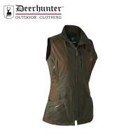 Deerhunter Lady Ann Waistcoat Deep Green