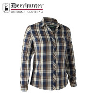 Deerhunter Lady May Shirt Blue Check