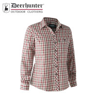 Deerhunter Lady Maxine Shirt Red Check
