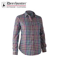 Deerhunter Lady Victoria Shirt Brown Check