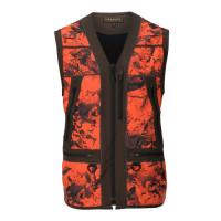 Harkila Wildboar Pro Safety Waistcoat Axis Msp Orange Blaze
