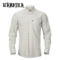 Harkila Retrieve Shirt Dark Olive Check