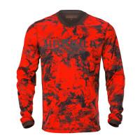Harkila Wildboar Pro L/S T Shirt Axis Msp Orange