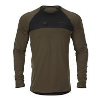 Harkila Heat L/S T Shirt Willow Green/Black