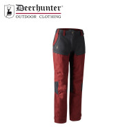 Deerhunter Lady Ann Trousers Oxblood Red