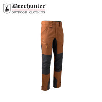 Deerhunter Rogaland Stretch Contrast Trousers Burnt Orange
