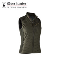 Deerhunter Lady Caroline Padded Waistcoat With Knit Timber