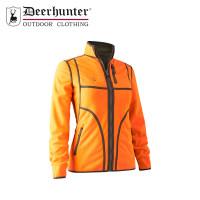 Deerhunter Lady Pam Reversible Bonded Fleece Jacket Orange