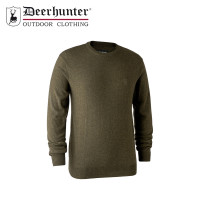 Deerhunter Kingston Knit O Neck Cypress