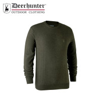 Deerhunter Kingston Knit O Neck Green Melange