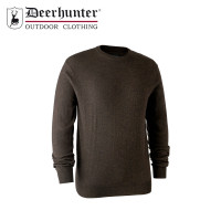 Deerhunter Kingston Knit O Neck Dark Elm
