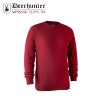 Deerhunter Kingston Knit O Neck Red
