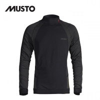 Musto Active Base Layer Long Sleeve Top Black