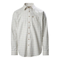 Musto Classic Twill Check Shirt Rutmoor Colbalt