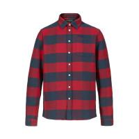Musto Marina Flannel Shirt Deep Red Check