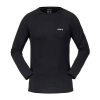 Musto Merino Base Layer Long Sleeve T Shirt Black