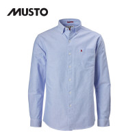 Musto Aiden Long Sleeve Oxford Shirt Pale Blue