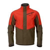 Harkila Wildboar Pro Camo Fleece Jacket Axis Msp Wildboar Orange/Shadow Brown