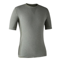 Deerhunter Performance Underwear T Shirt Soft Green Melange