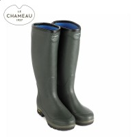 Le Chameau Country Vibram Neo Neoprene Lined Wellington Boots (Unisex)