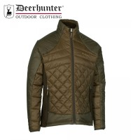 Deerhunter Cumberland Quilted Jacket Dark Elm